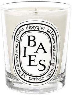 GOFT FOR THE HOSTESS: diptyque 'Baies' Scented Candle. It smells amazing, and you only need one to fill a large space. $30+