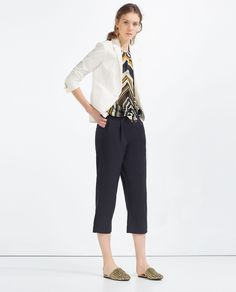 ZARA - COLLECTION SS16 - BLAZER BOUTONNÉ