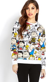 Peanuts Sweatshirt | FOREVER 21 - 2000127111