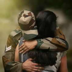 Military Couples Military Quotes Military Families Indian Army Quotes Real Life Heros