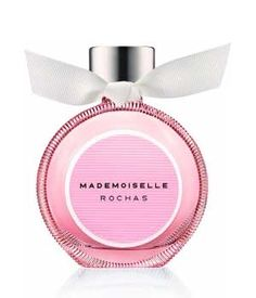 Mademoiselle Rochas... - Sweet and fruity aromas of black currant and candied apple from the top of the composition are leading to the floral heart of rose petals and Egyptian jasmine. The base reveals tones of ambergris, sandalwood and chantilly musk