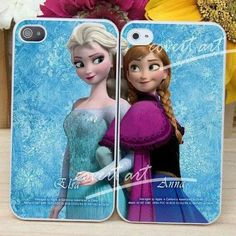 Anna and Elsa phone covers