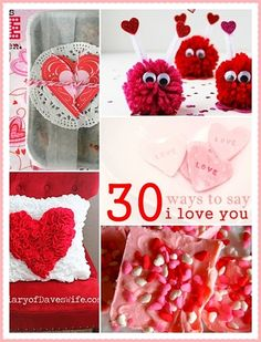 The 36th AVENUE | 30 DIY Valentine Crafts and Proj - The 36th AVENUE | 30 DIY Valentine Crafts and Projects  Repinly Holidays & Events Popular Pins