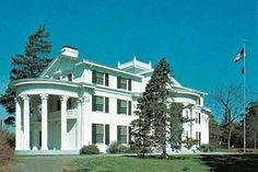 J Sterling Morton Mansion   The J. Sterling Morton House is in Arbor Lodge State Historical Park ...