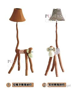 2014 UNique Kid Lighting Monkey Cartoon Animal Children's Floor Lamps | Buy Wholesale On Line Direct from China
