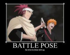 battle pose bleach