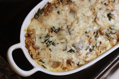 Everyday Reading: Vegetarian Recipe #9: Rice and Mushroom Casserole