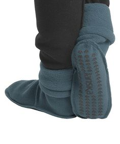 bootie socks... or sockie boots. either way, cozy!