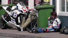 Guy Martin Drinking Tea
