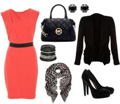 Chic Professional Woman Work Outfit. work fashion