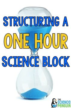 The Science Penguin: Structuring a One Hour Science Block