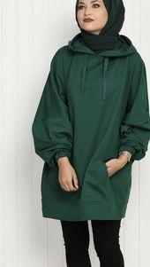 Yesil Tunik Ustune Ne Renk Sal – Tarz Kadın Yesil Tunic Ustune What Color Sal – Style Woman Modern Hijab Fashion, Street Hijab Fashion, Hijab Fashion Inspiration, Muslim Fashion, Modest Fashion, Fashion Outfits, Hijab Dress, Hijab Outfit, Hijab Fashionista