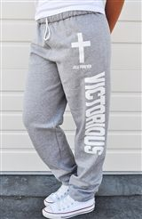 Christian T-Shirts   Victorious sweats. I don't even wear sweats, but when I get some, I'd like these.
