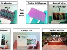 Stanford Develops Peel-and-Stick Solar Cells - Damn!!