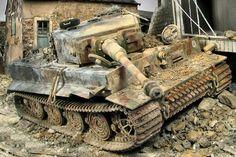 WW2 German Sd.Kfz.181 Pz.Kpfw.VI Ausf.E Tiger I Late by Glenn Bartolotti
