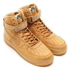 innovative design cdddf 25f08 Nike Air Force 1 High  07 LV8  Wheat Color  Flax Flax