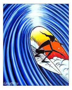 8bf79fa1bfe Feature Print from Bob s Tribal Surf Art Series