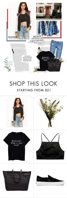 """""""She mix"""" by bbiillggeess ❤ liked on Polyvore featuring Abigail Ahern, Prae, The Row, Vans, Kate Spade and bbiillggeess"""