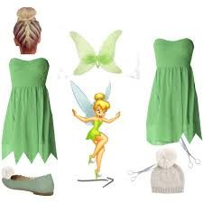 tinkerbelle adult fairy costume diy - Google Search
