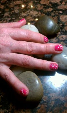 @OPI Nail #OPIGelColor #lightsofemeraldcity #strawberrymargarita  Nails by Tonya  #OPIGelColorGlitterCoat