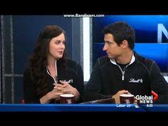 Tessa Virtue and Scott Moir - Morning News Halifax - YouTube