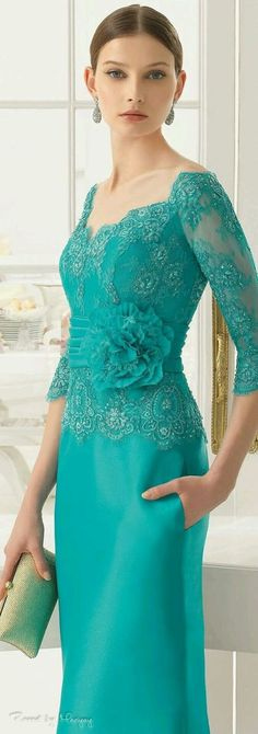 33 trendy Ideas for dress brokat aire barcelona Trendy Dresses, Elegant Dresses, Fashion Dresses, Evening Dresses, Prom Dresses, Formal Dresses, Lace Dresses, Dress Prom, Bride Dresses
