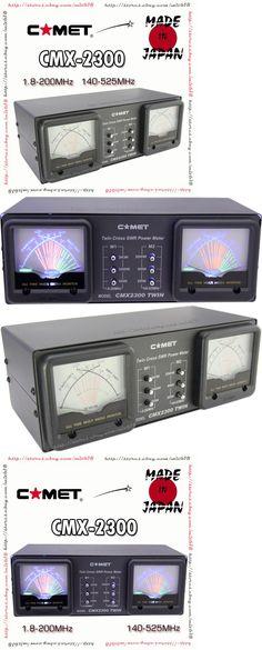 Meters: Comet Antenna Dual Meter Cmx-2300 Hf Vhf Uhf Cross Needle Watt V Swr Meter -> BUY IT NOW ONLY: $195 on eBay!