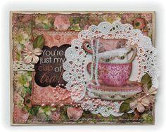 Tea card by Gabrielle