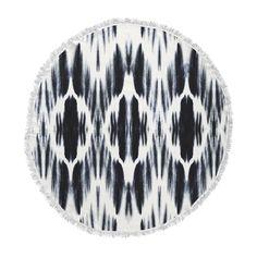 23 x 23 Square Floor Pillow Kess InHouse Julia Grifol White Leaves