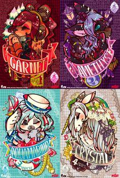 MAGIC JEWERY series 1 by mofuwa on DeviantArt