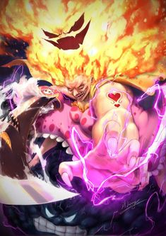 The most powerful woman in the world, Charlotte Linlin, also known as Big Mom. One Piece Anime, One Piece Comic, One Piece Fanart, One Piece Luffy, One Piece Wallpapers, Animes Wallpapers, Manga Anime, Anime Art, Manga Girl