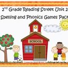 What a fun and engaging way to practice the spelling and phonics patterns from Reading Street Basal Series Unit 2! This pack includes 10 games that...