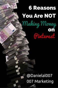 Are you making money on Pinterest? If the answer is no, this is the article for you! It tells you what you might be doing wrong and what you should do instead. #JoinThePinterestParty