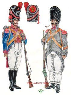 Neapolitan Guard Grenadier 1. Corporals