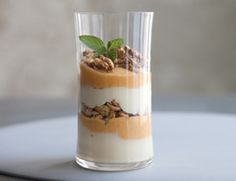 Pumpkin Parfaits with Oat Crunch | Community Post: 10 Yummy Vegetarian Day Fall Recipes