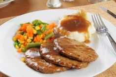 Salisbury Steak Recipe #SalisburySteak #steak #meat