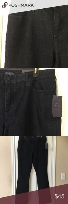 "NYDJ Not Your Daughters Mini Bootcut Jeans NWT! Not Your Daughters Billie Mini Bootcut Jeans. Look a full size smaller! Great condition! Dark wash. Comfortable and flattering cotton blend. Lift tuck technology. Waist 37"", rise 12"", inseam 33"". Amazing jeans with a cult following! NYDJ Jeans Boot Cut"