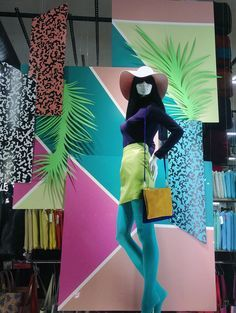 Image result for tropical themed fashion merchandising