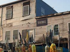 Sea Bags Headquarters 25 Custom House Wharf, Portland, Maine, USA.