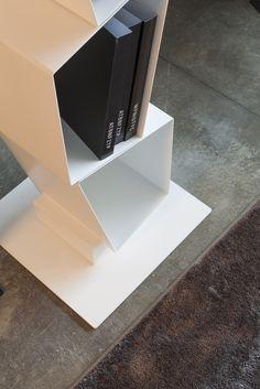 SU/Ronda Design: #modular #metal #bookcase (detail)  #design #furniture #etimodesign #diegocollareda