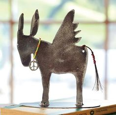 Winged donkey of peace by   Jes MaHarry and Patrick Henderson