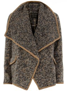 The Coatigan - the knit of a cardigan with the style of a coat. I predict this to be big for autumn/winter