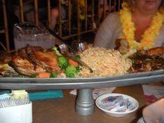 The awesome Luau feast at the Polynesian Resort, Walt Disney World