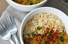 Linssicurry   Vegaanihaaste Fried Rice, Fries, Curry, Ethnic Recipes, Food, Curries, Essen, Meals, Nasi Goreng