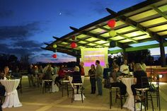 The Congaree Terrace at EdVenture Children's Museum for EdVenture After Dark presents Uncorked.