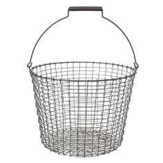 Metallikori Bucket 24, galvanoitu