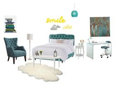 """""""Part 2 summer room"""" by jbnixs-2 ❤ liked on Polyvore featuring Home Decorators Collection, Arteriors, Varaluz, UGG Australia, Barclay Butera, Cyan Design, NDI, Newgate, FabFunky and Zuo"""