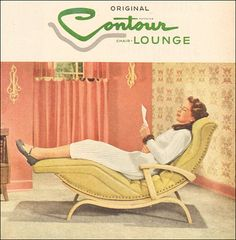 1953-contour lounge  featured in Better Homes & Gardens Magazine