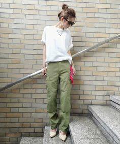 【Casual】ウォッシュカーゴパンツ(パンツ)|Ungrid(アングリッド)のファッション通販 - ZOZOTOWN
