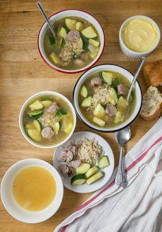 Recipe: Sausage and Zucchini Soup